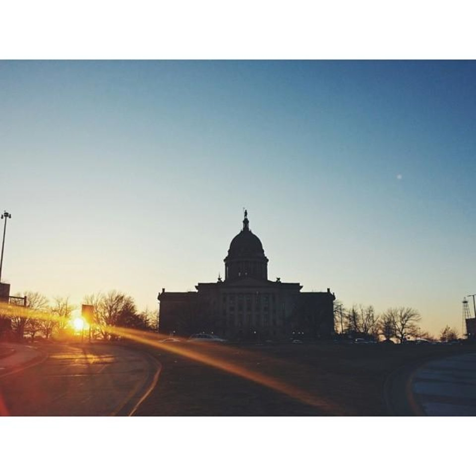 Oklahoma Capitol - Photo by Instagrammer @le_ciudad