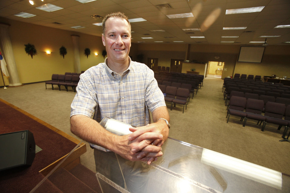 The Rev. Tom Arnould, pastor of Good News Church in Yukon, is president of the Yukon Ministerial Alliance. PHOTO BY STEVE GOOCH, THE OKLAHOMAN