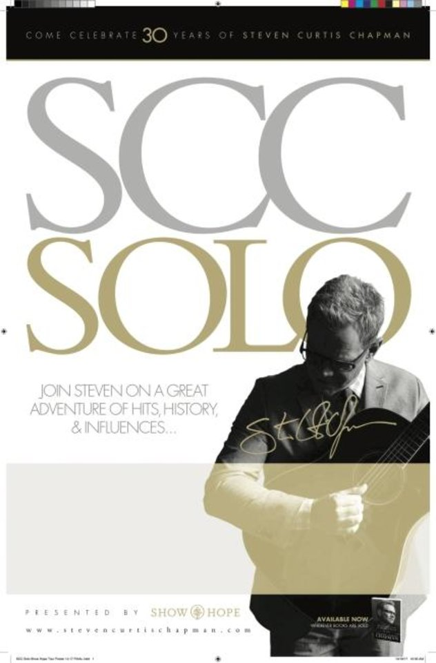 Photo -  Steven Curtis Chapman is celebrating 30 years in the industry with SCC Solo tour.