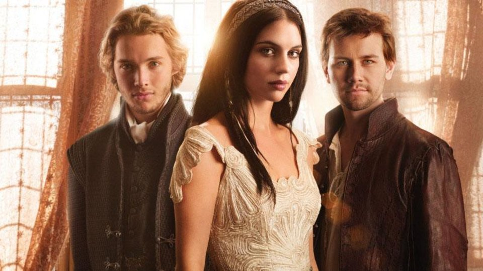 """Photo -  From left, Toby Regbo, Adelaide Kane and Torrance Coombs star in """"Reign."""" - Photo: Mathieu Young/The CW -- © 2013 The CW Network, LLC. All rights reserved."""