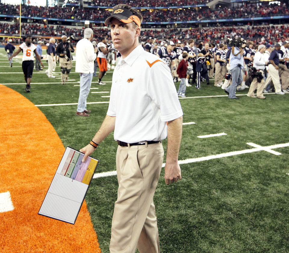 Photo - Mike Gundy  Photo by Nate Billings,  The Oklahoman