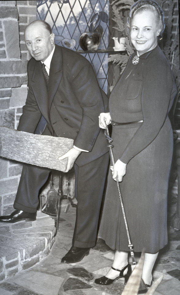 Mr. and Mrs. G.A. Nichols are shown in this 1939 photo. THE OKLAHOMAN ARCHIVE