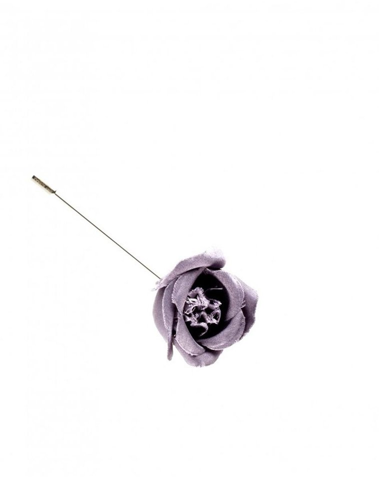 Try dressing up the buttonhole with this Rosebud tie pin from Lanvin,  $195. (MCT)