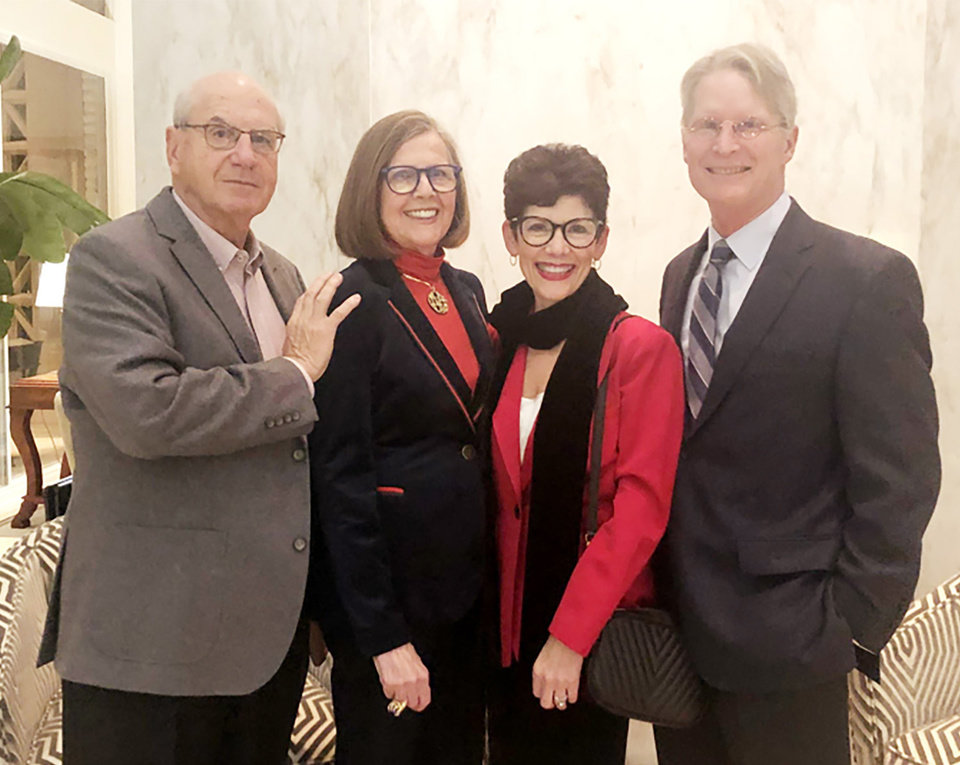 Photo - Hal and Elaine Levy, Cindi and Mike Shelby. PHOTO PROVIDED