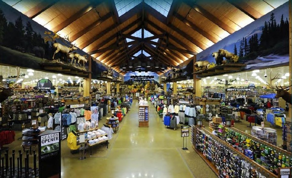 Photo -   This is a typical layout for a Cabela's outdoor store. Photos provided    Provided