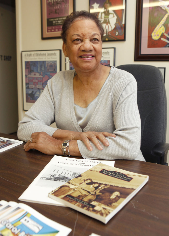 Anita Arnold, author of Deep Deuce books, Friday, May 28, 2010. By Paul Hellstern, The Oklahoman