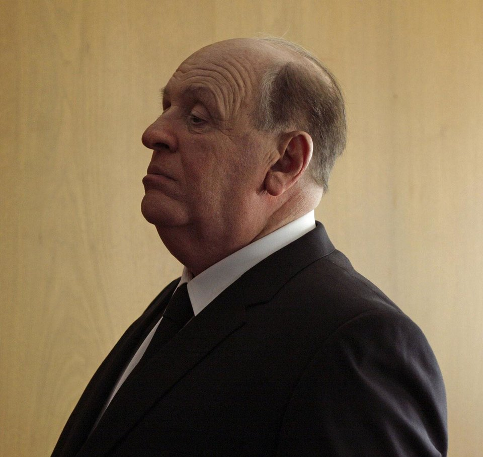 Photo - Anthony Hopkins portrays legendary filmmaker Alfred Hitchcock in