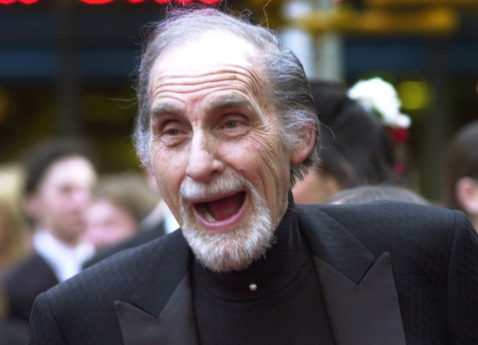 Photo - FILE - In this May 5, 2002 file photo, Sid Caesar, of