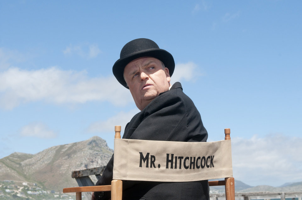 Photo - This image released by HBO shows Toby Jones, portraying Alfred Hitchcock in a scene from the film