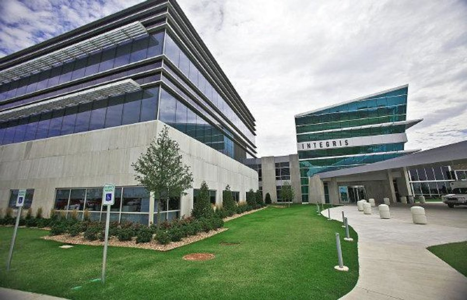 Photo - ProCure is celebrating a year of operation. The proton therapy center is adjacent to Integris Cancer Institute on Memorial Road near MacArthur Boulevard. Photo by Chris Landsberger