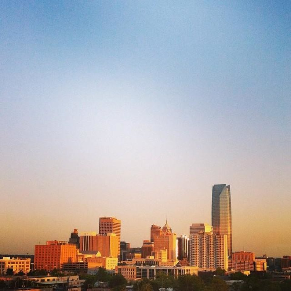 Oklahoma City - Photo by Instagrammer @carliwentworth