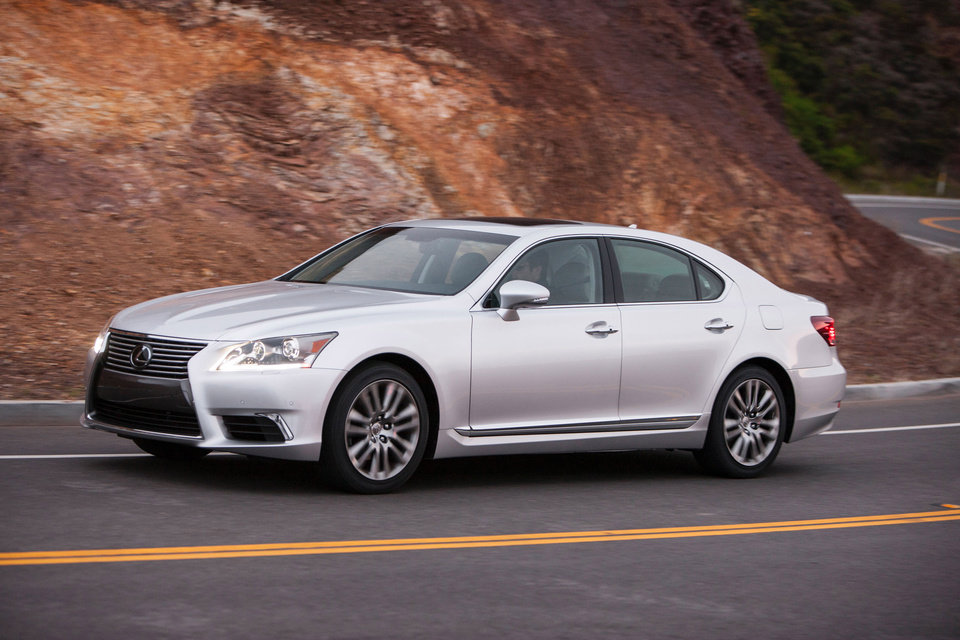 Photo - This undated image provided by Lexus shows the 2013 Lexus LS 460. (AP Photo/Lexus)