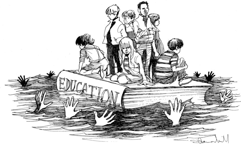 Photo - GRAPHIC / ILLUSTRATION / CARTOON / EDITORIAL / DRAWING / KIDS: Children - Education - Sinking	ORG XMIT: 0805302022111110 ORG XMIT: F275QBH