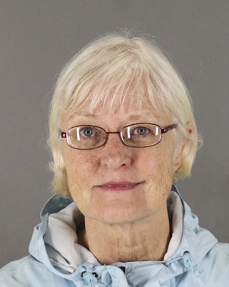 Photo - This undated photo released by the San Mateo County Sheriff's Office shows Marilyn Hartman. Federal law enforcement officials say Hartman tried at least three times to breach airport security before she was able to get through a checkpoint without a boarding pass at Mineta San Jose International Airport on Monday, Aug. 4, 2014. (AP Photo/San Mateo County Sheriff's Office)