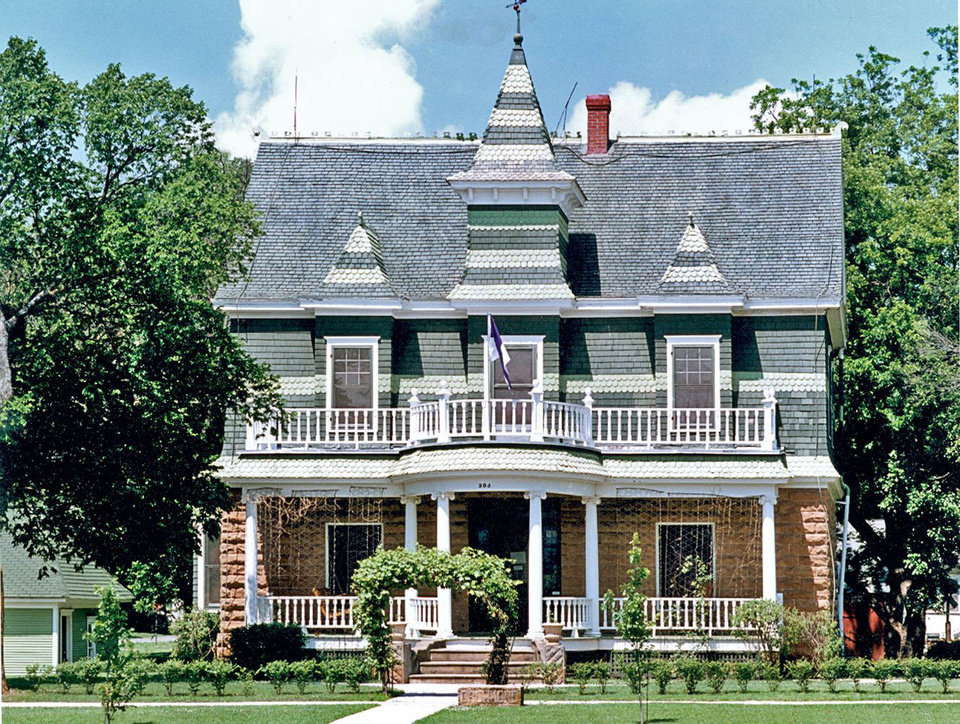 Frederick Drummond, whose 1905 Victorian-style Hominy home pictured here was given to the Oklahoma Historical Society in 1981, founded the Hominy Trading Co. and was one of Oklahoma's early settlers. PHOTO PROVIDED