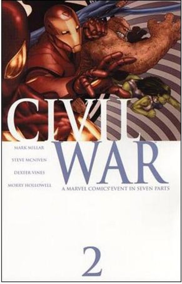 "Photo - Marvel Comics' ""Civil War"" No. 2 was the best-selling comic of 2006."