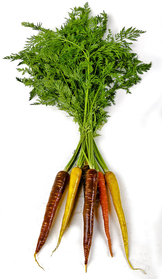 Carrots.  Photo by Chris Landsberger, The Oklahoman <strong>CHRIS LANDSBERGER - CHRIS LANDSBERGER</strong>