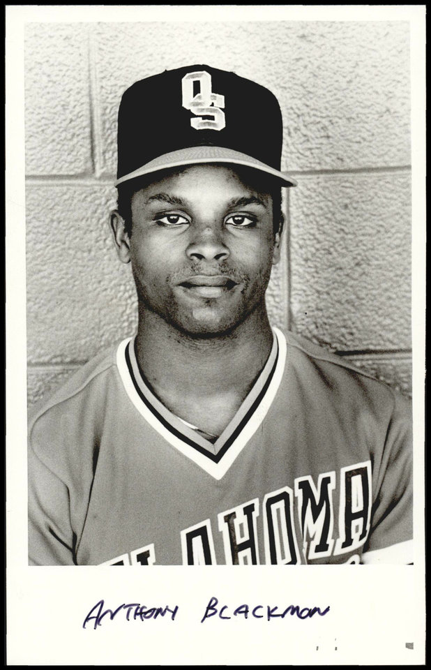 Anthony Blackmon, former OSU Baseball Player <strong>UNKNOWN - UNKNOWN</strong>