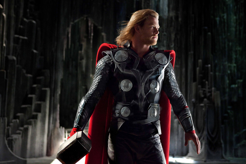 Photo -  Photo credit: Mark Fellman / Marvel StudiosThor (Chris Hemsworth) in THOR, from Paramount Pictures and Marvel Entertainment. © 2011 MVLFFLLC. TM & © 2011 Marvel. All Rights Reserved.