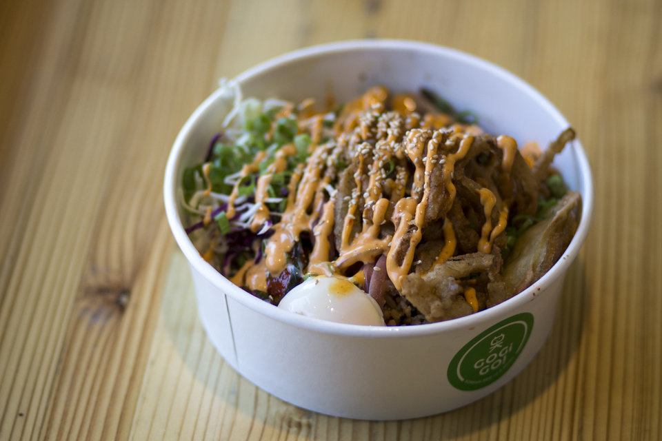 Photo - Gogi Go is a fast casual Korean concept with a new location in the Edmond Railyard. [The Oklahoman Archives]