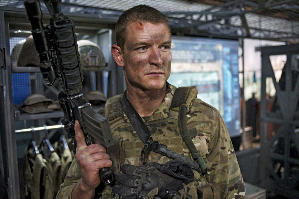"Philip Winchester stars in ""Strike Back."" CINEMAX PHOTO <strong></strong>"