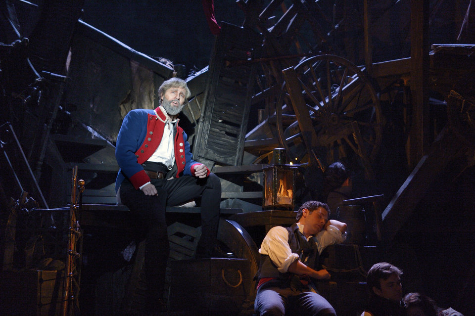 Peter Lockyer as Jean Valjean Photo by Deen van Meer Deen van Meer
