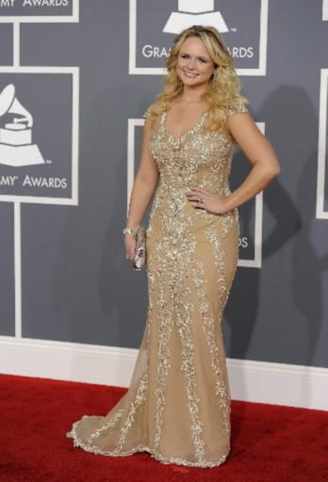 Photo -  Miranda Lambert (AP file)