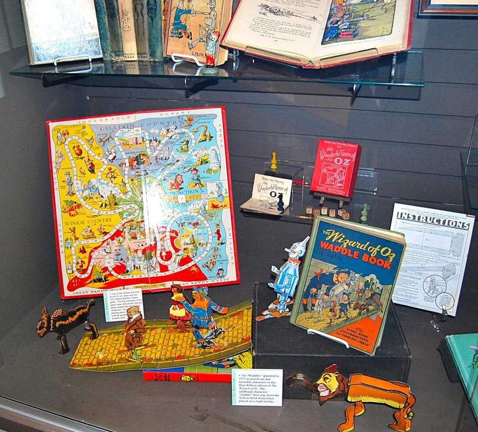 Oz memorabilia is on display at the Oz Museum of Wamego, Kansas. Photo by Annette Price, for The Oklahoman. <strong></strong>