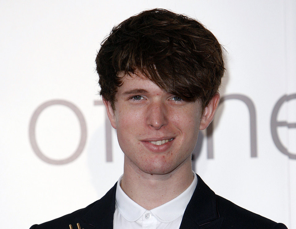 "Photo - FILE - This Sept. 6, 2011 file photo shows British musician James Blake at the Barclaycard Mercury Prize awards ceremony at the Grosvenor House Hotel in London. Blake's, ""Retrograde,"" was the most viral track on Spotify from Monday, Feb. 11, to Sunday, Feb. 17, 2013. (AP Photo/Akira Suemori, file)"