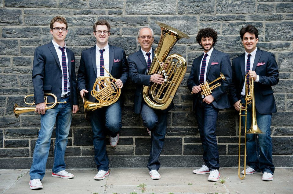 Photo - The Canadian Brass   Photo provided  Photo provided