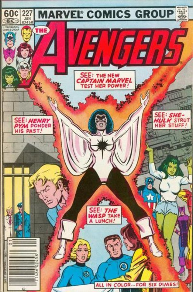 Photo - Monica Rambeau once went by the name of Captain Marvel and for a time led the Avengers. [Marvel Comics]