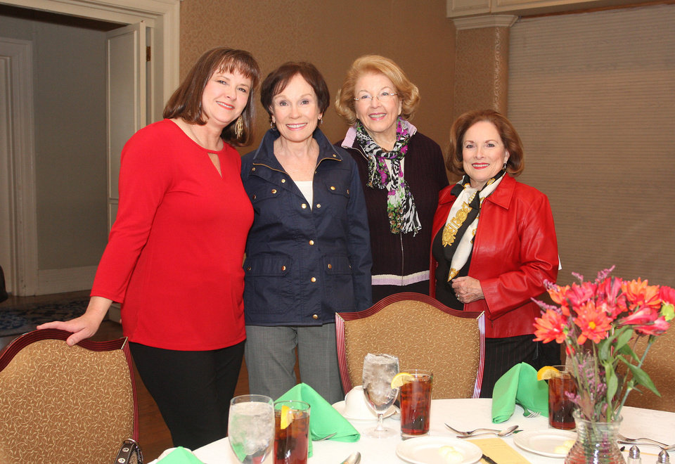 Photo - Melissa Coleman, Marilyn Torbett, Rita Moore, SoRelle Fitzgerald. PHOTO BY DAVID FAYTINGER, FOR THE OKLAHOMAN