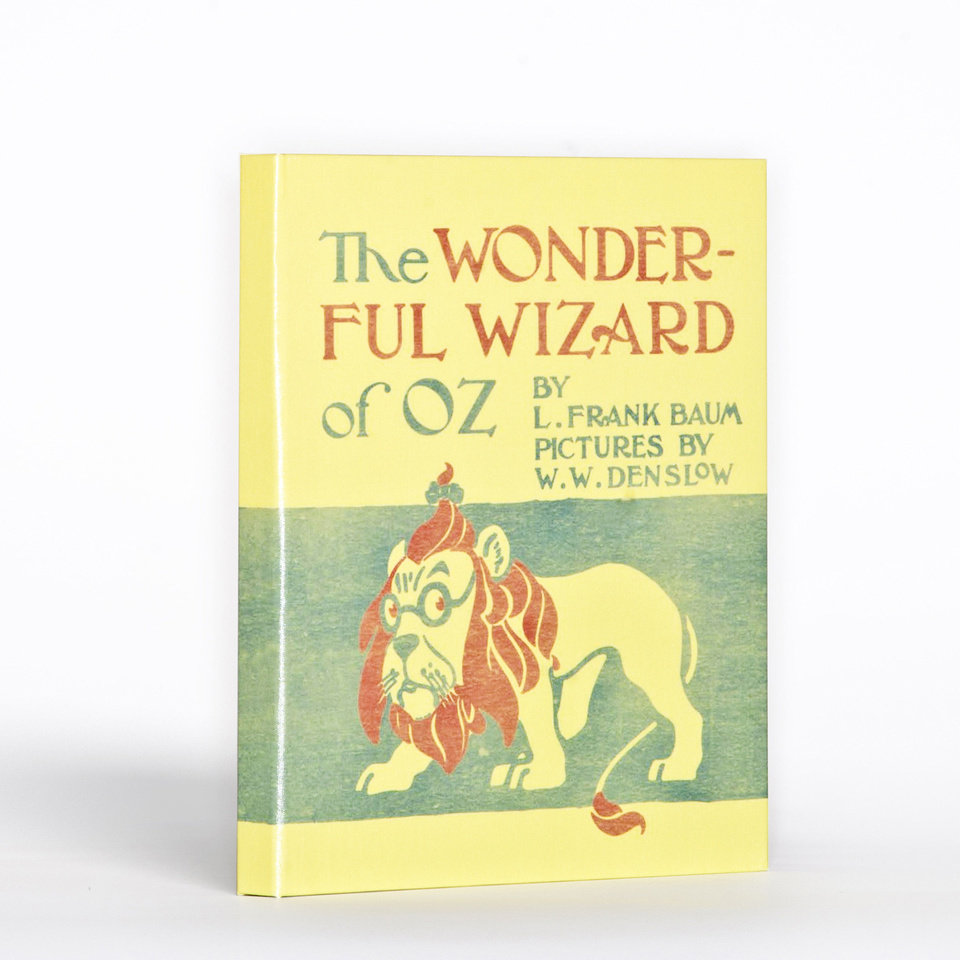 "Hide an e-reader like the iPad from view with a protective cover from Out of Print Clothing disguised like a classic book, such as ""The Wizard of Oz"" from L. Frank Baum. PHOTO PROVIDED. <strong>unknown</strong>"
