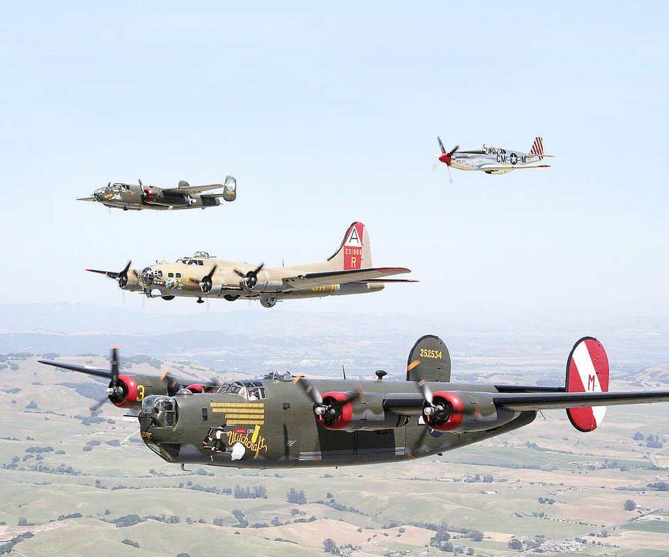 Wings of Freedom vintage aircraft will be on display in Oklahoma City from April 6-8 as part of a nationwide tour. Photo Provided