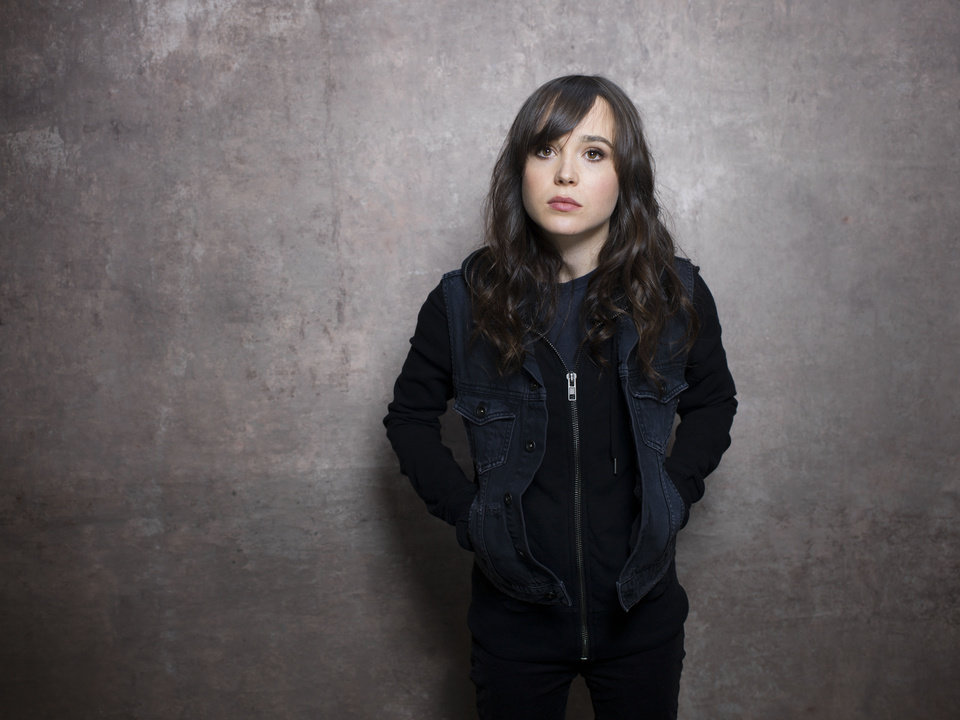 "Actress Ellen Page from the film ""The East"" poses for a portrait during the 2013 Sundance Film Festival on Sunday, Jan. 20, 2013 in Park City, Utah. (Photo by Victoria Will/Invision/AP Images)"