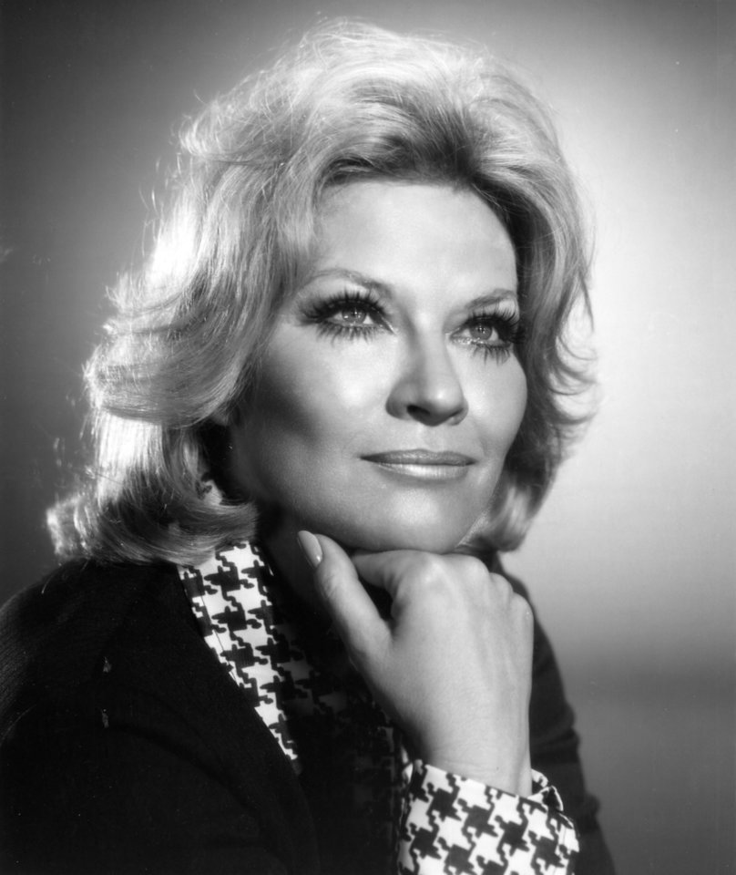 Singer and Tulsa native Patti Page in 1975. <strong>Unknown - The Daily Oklahoman</strong>