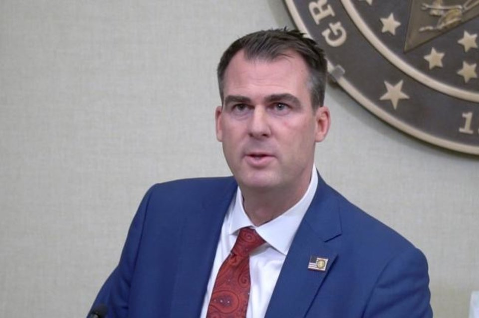 Photo - Gov. Kevin Stitt -- File photo