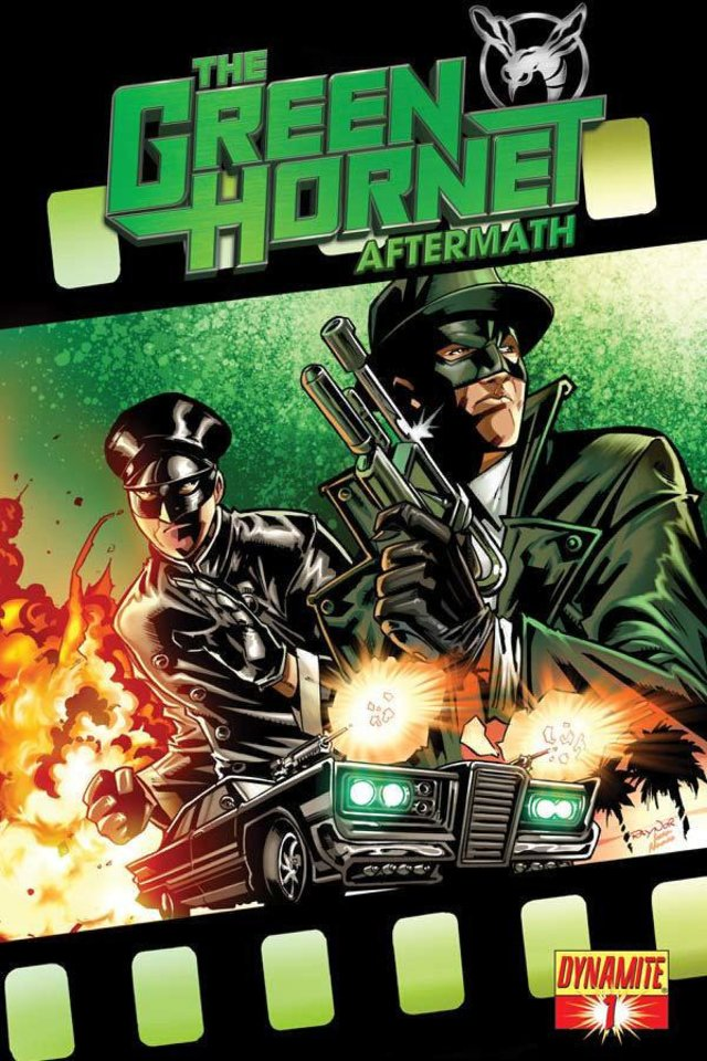 """Jai Nitz is the writer of """"Green Hornet: Aftermath,"""" the comic-book sequel to the Green Hornet film. Dynamite Entertainment. <strong></strong>"""