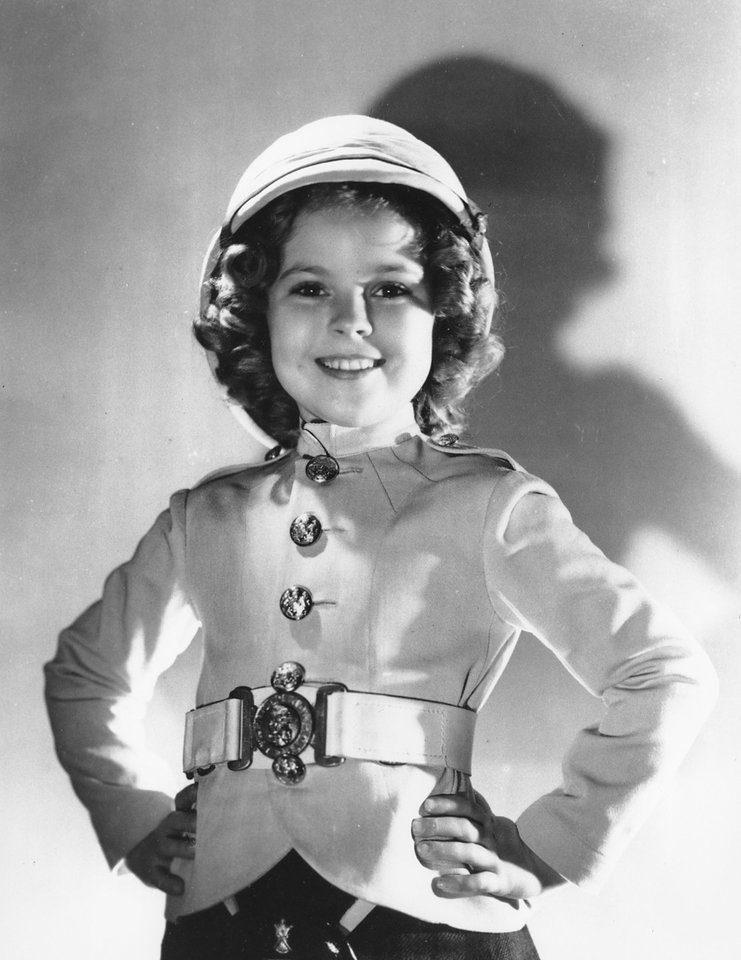 Photo - FILE - In this undated file publicity photo, actress Shirley Temple is shown as she appeared in