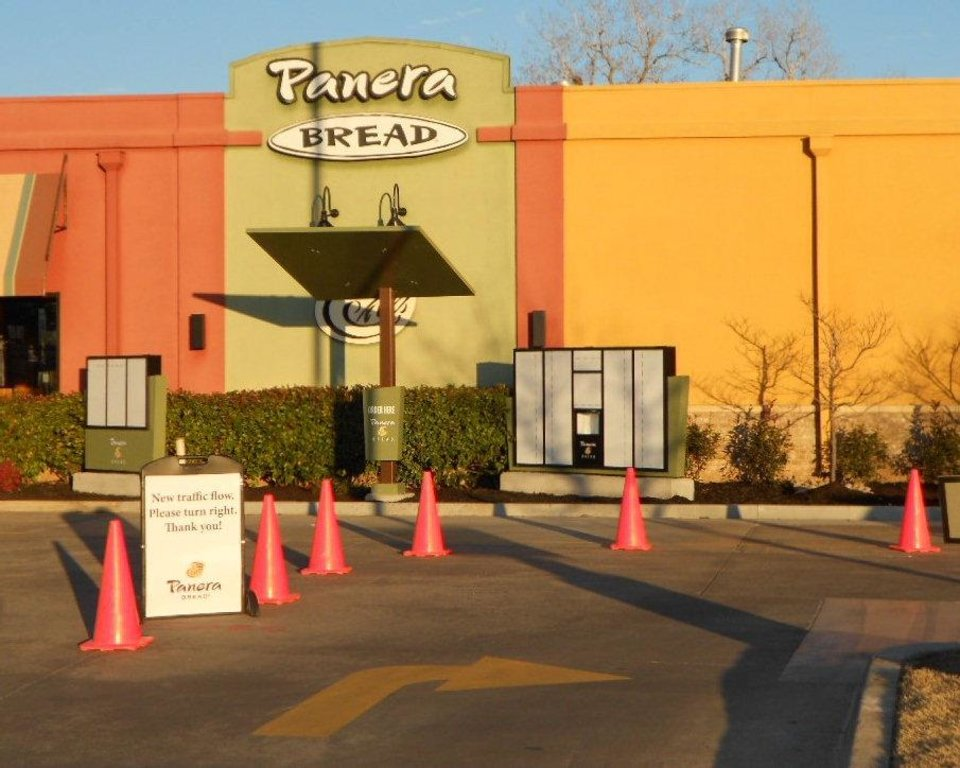 Panera Bread, 2200 W Main St. in Norman, with the new drive-thru is shown. PHOTO PROVIDED