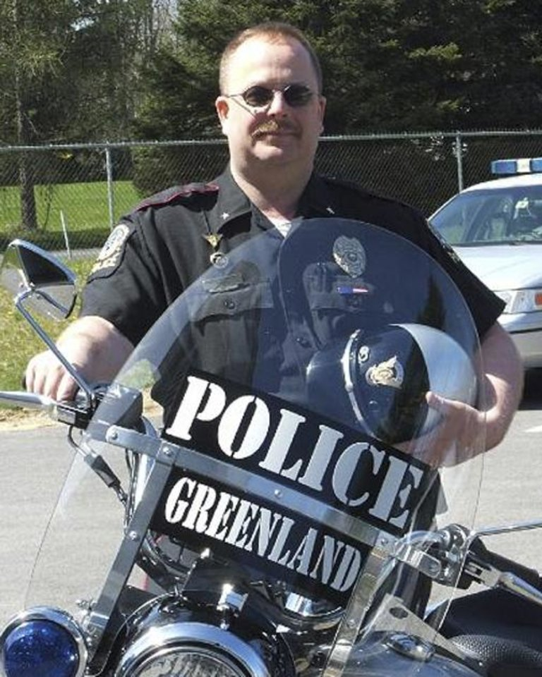 FILE  - This undated photo provided by the Greenland Police Dept. shows Chief Michael Maloney. The Greenland Police Chief, Maloney was killed during a drug bust-turned-shootout Thursday April 12, 2012 in New Hampshire.  Maloney's death was one of the top stories from New Hampshire in 2012.  (AP Photo/Greenland Police Department, File)