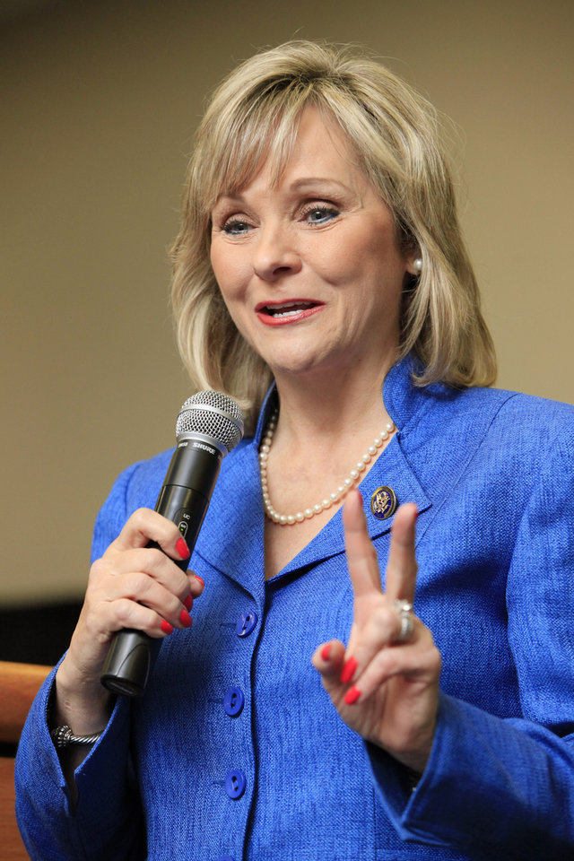 Photo - U.S. Rep. Mary Fallin Republican nominee for governor