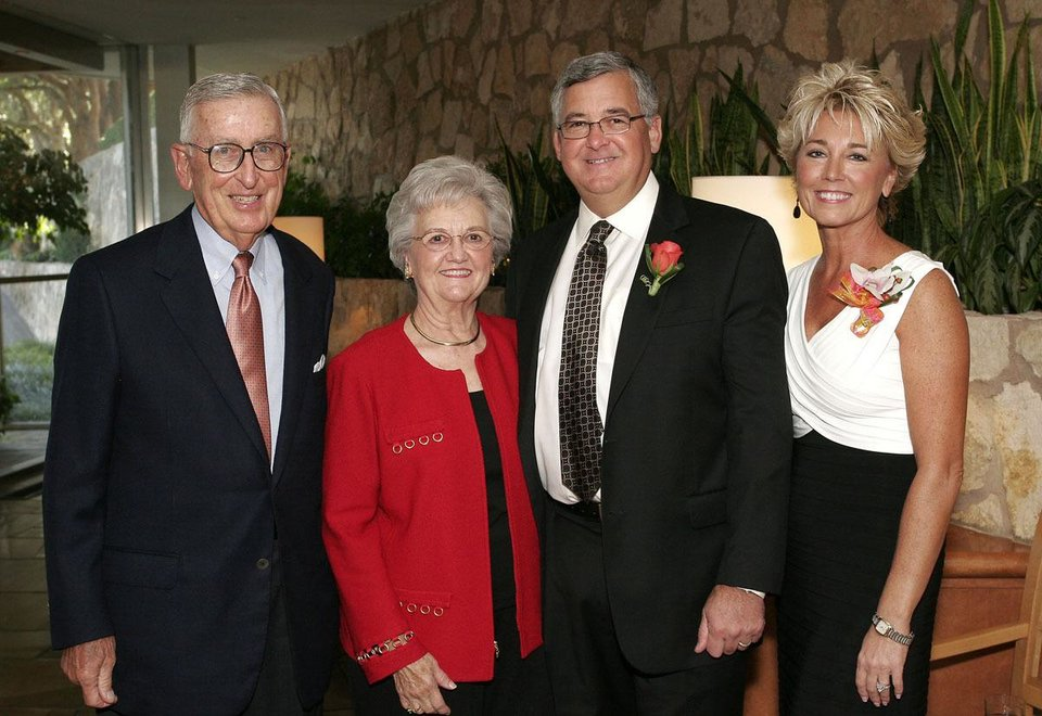 Bill, Barbara, David and Druanne Durrett.  - Photo by David Faytinger, For The Oklahoman
