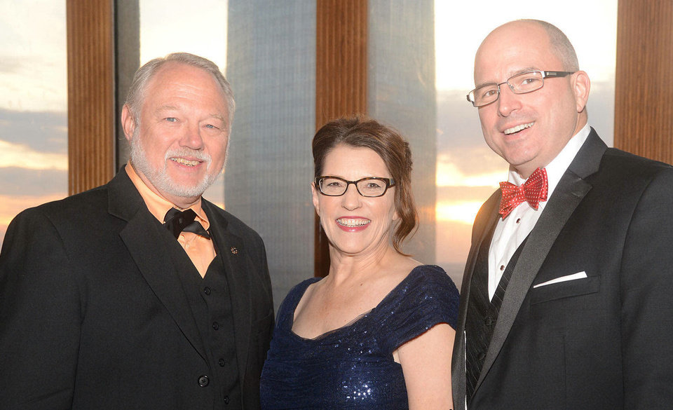 Photo - Jim Rutledge, Susan Adams, David Stanley. Photo by David Faytinger, for The Oklahoman