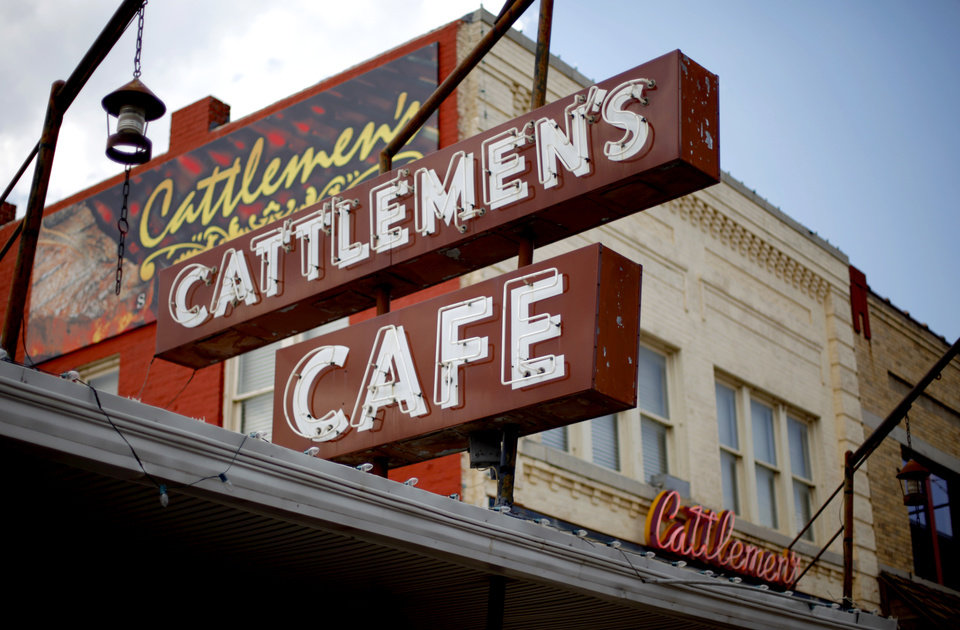 Photo - RESTAURANT / BUILDING EXTERIOR: Cattlemen's Steakhouse in Oklahoma CIty, Wednesday, August 3, 2011. Photo by Bryan Terry, The Oklahoman ORG XMIT: KOD