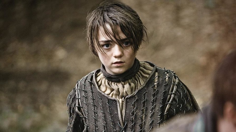 Photo -  Arya Stark, the best character in the entire series.