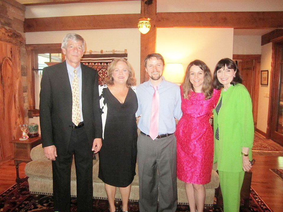Jim and Kathy Alexander, Robert Hyde, Mary Alexander, Betsy Hyde. PHOTO PROVIDED