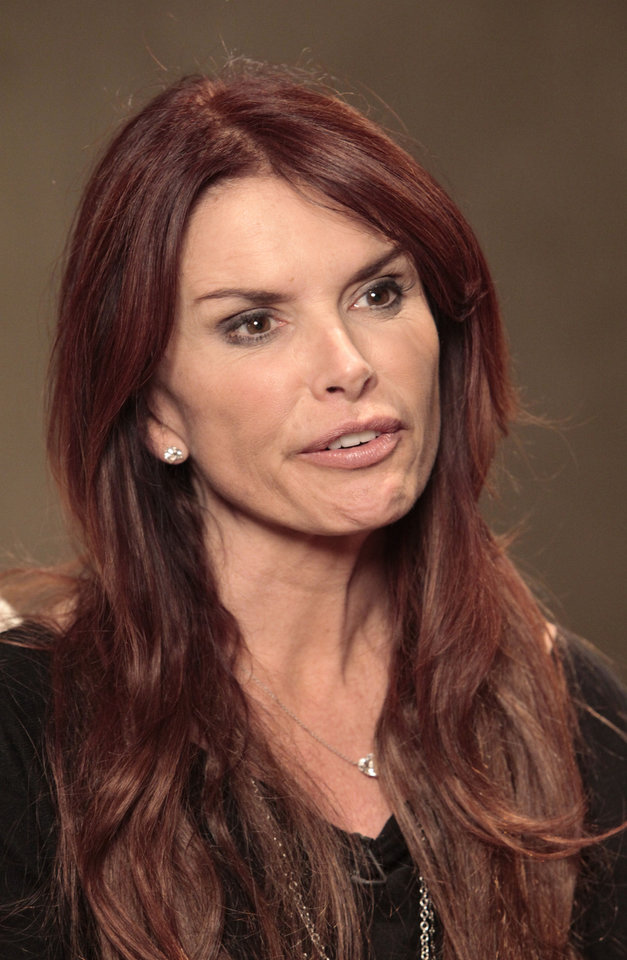 Photo - Roma Downey talks about  her new TV series on the History Channel called