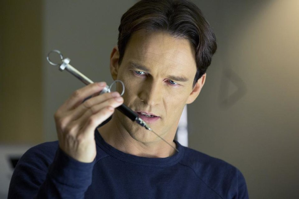 """Photo -  Stephen Moyer is shown in a scene from the fifth episode of Season Six of """"True Blood."""". - Photo by John P. Johnson/Courtesy of HBO"""