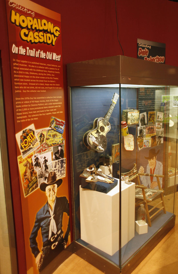 Photo - The Hopalong Cassidy display in the